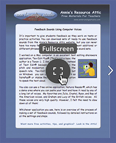 Image©2017 ABS Thumbnail of Tutorial Cover With Icon To Open Full-Screen View